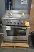 Dcs Rgv2304n 30 Stainless Freestanding Natural Gas Range Nob 39045 Mad