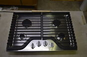 Whirlpool Wcg75us0ds 30 Stainless Gas Cooktop W 4 Burners 6175 T2