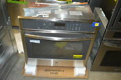 Ge Profile Pt7050sfss 30 Stainless Single Electric Wall Oven Nob 19557
