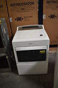 Whirlpool Wgd7500gw 27 White Top Load Gas Dryer Nob 7 4 Cuft 40396 Clw