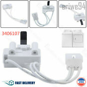 Genuine 3406107 Dryer Door Switch Kit For Whirlpool Maytag Kenmore New 2019 Us