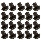 20 Pack Of Viking Range Compatible Grate Rubber Feet Bumpers Grate Bumper