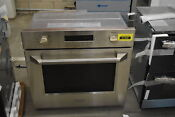 Ge Monogram Zet1phss 30 Stainless Single Electric Wall Oven Nob 41468 Hrt