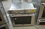 Thermador Pod301j 30 Stainless Single Electric Wall Oven Nob 31859 Mad