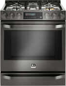 Lg Lssg3019bd 30 Black Stainless Slide In Gas Range Nib Hrt
