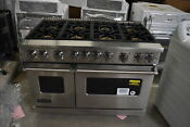Viking Vgr7488bss 48 Stainless Pro Style Gas Range Nob 42059 Mad