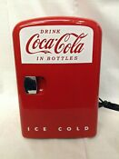 Coca Cola Mini Fridge Holds 6 12 Oz Cans