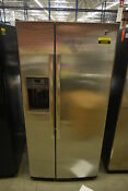 Ge Gss23hshss 33 Stainless Side By Side Refrigerator Nob 42352 Hrt