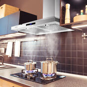 36 Under Cabinet Range Hood 350 Cfm 3 Speed Exhaust Fan Kitchen Over Stove Vent