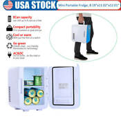 Electric Mini Fridge Cooler Warmer 0 21 Cuft Portable Thermoelectric System