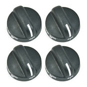 4 Pack Whirlpool Range Burner Knob Black 8273103 Wp8273103 Ps393678