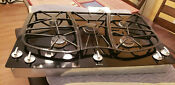 Jenn Air Jgc9536bd Stainless Steel 35 34 In Gas Hobs Gas And Electric