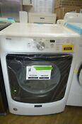 Maytag Med3500fw 27 White 7 4 Cu Ft Front Load Electric Dryer Nob 34335 Mad