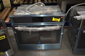Ge Profile Pt9051slss 30 Stainless Single Electric Wall Oven Nob 34539 Mad