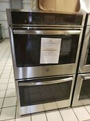 Ge 30 Built In Double Electric Convection Wall Oven Stainless Steel Jts5500sfss