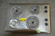 Whirlpool Wcc31430ar 30 Stainless Electric Cooktop 4 Element Nob 29540 Clw