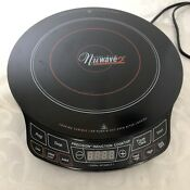 Nuwave Precision 2 Induction Cooktop Electric Portable Black Works