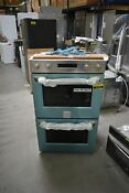Ge Monogram Zet2phss 30 Stainless Double Electric Wall Oven Nob 41825 Hrt