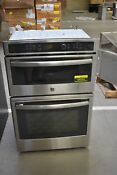 Ge Profile Pk7800skss 27 Stainless Combo Electric Wall Oven 44950 Hrt