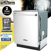 Thor Kitchen Hdw2401ss 24 Built In Dishwasher Stainless Steel 2 Years Warranty