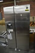 Samsung Rs22hdhpnsr 36 Stainless Cd Side By Side Refrigerator Nob 45409 Hrt