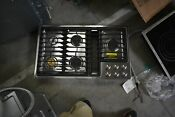 Jenn Air Jgd3536gs 36 Stainless Downdraft Gas Cooktop Nob 45237 Hrt