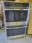 Ge 30 Built In Double Electric Convection Wall Oven Stainless Steel Jt5500sfss