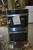 Ge Jkd3000snss 27 Stainless Double Electric Wall Oven Nob 45781 Hrt
