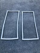 Kenmore Refrigerator Doors Right And Left Gaskets Model 795 71053 012 Genuine