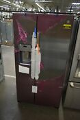 Ge Gzs22iynfs 36 Stainless Side By Side Refrigerator Nob 46606 Hrt