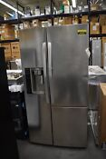 Lg Lsxs26366s 36 Stainless Side By Side Refrigerator Nob 44952 Hrt
