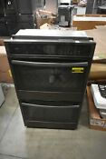 Ge Pt7550blts 30 Black Stainless Double Electric Wall Oven Nob 43588 Mad