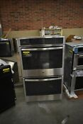 Ge Profile Pt7550sfss 30 Stainless Double Wall Oven Nob 44342 Hrt