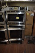 Thermador Medmcw31jp 30 Stainless Triple Combination Wall Oven Nob 35363 Hrt