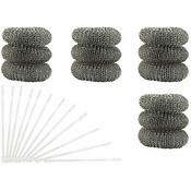 12 Pack Washing Machine Lint Traps Comes Ties Attach Your Washer Sink Hose