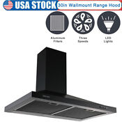 30 Range Hood Under Cabinet Stainless Steel Kitchen Exhaust Vent With 1000 Cfm