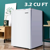 3 2 Cu Ft Mini Fridge Refrigerator Compact Freezer Freestanding Dorm White