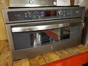 Ge Profile Advantium 30 Built In Convection Microwave Psb9240efes In Slate