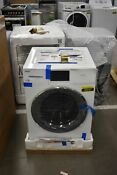 Haier Qfw150ssnww 24 White Smart Front Load Washer Nob 48647 Hrt