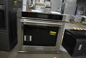 Kitchenaid Kost100ess 30 Stainless Single Electric Wall Oven Nob 48901 Hrt
