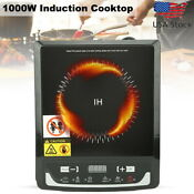 1000w Multifunction Portable Induction Cooktop Electric Countertop Burner 110v