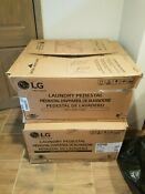 Lg Washer And Dryer Pedestal 27 White Wdp4w New In Box