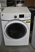 Ge Gfd45essmww 27 White Front Load Electric Dryer 7 5 Cu Ft Nob 43763 Clw
