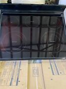 Whirlpool Glass Cooktop Used W11156895 Black Slight Imperfection
