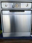 Vintage 1950s Stainless Steel Ge General Electric Wall Oven