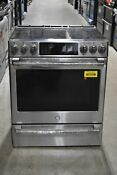 Ge Chs985selss 30 Stainless Induction Range Nob 39925