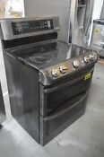 Lg Lde4415bd 30 Black Stainless Double Oven Electric Range 29348 Clw