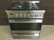 Fisher Paykel Or30sdbmx1 30 Pro Gas Range Oven 4 Burner Stainless