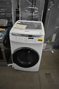 Samsung Dve55m9600wa3 27 White Front Load Electric Dryer Nob 34016 Clw