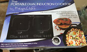 Brand New Megachef Portable Dual Induction Cooktop Model Mc1800